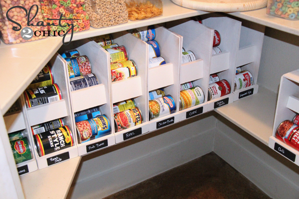 How to organize canned goods in your pantry