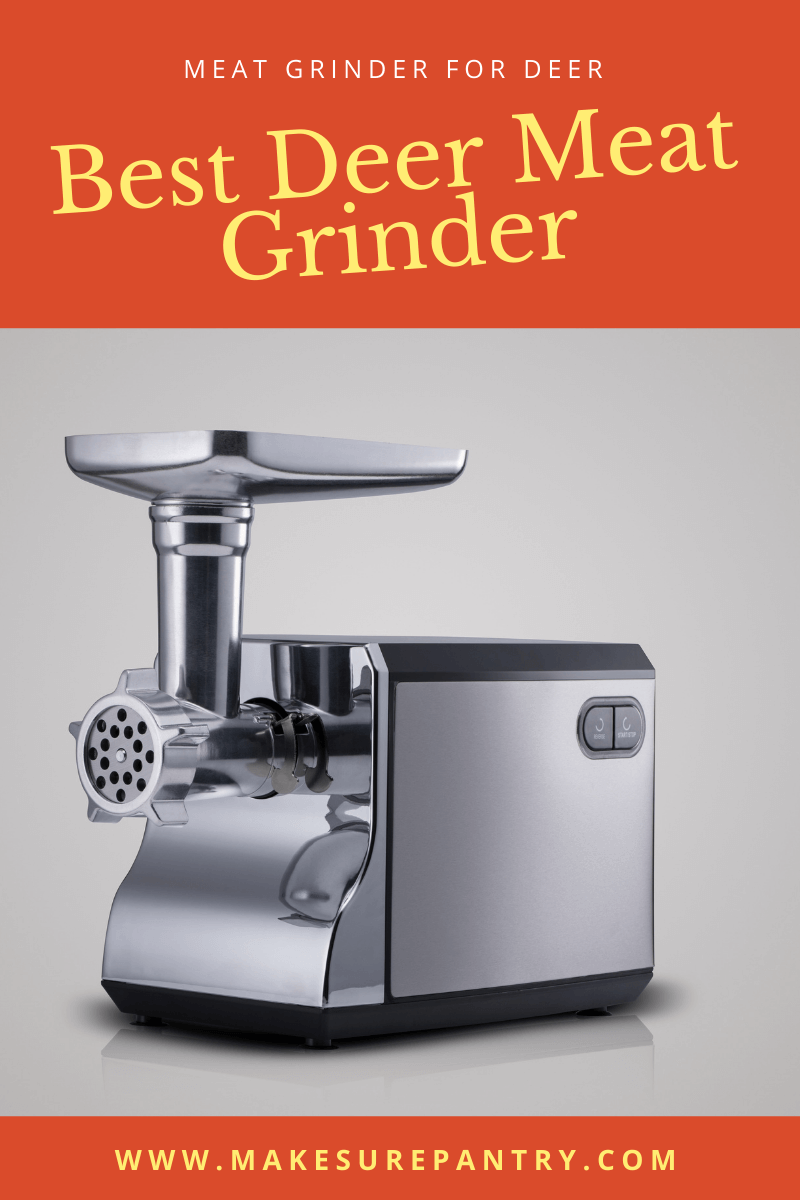 Best deer meat grinder