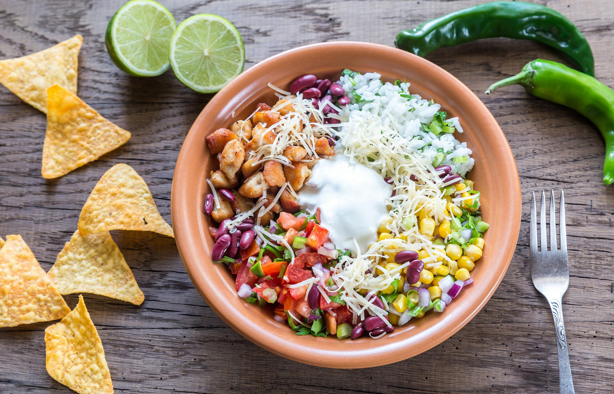 Easy Taco Rice Bowls