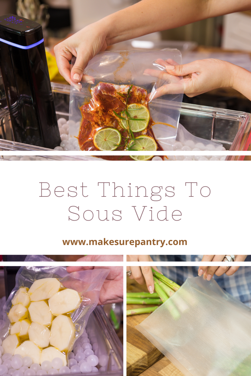 things to sous vide