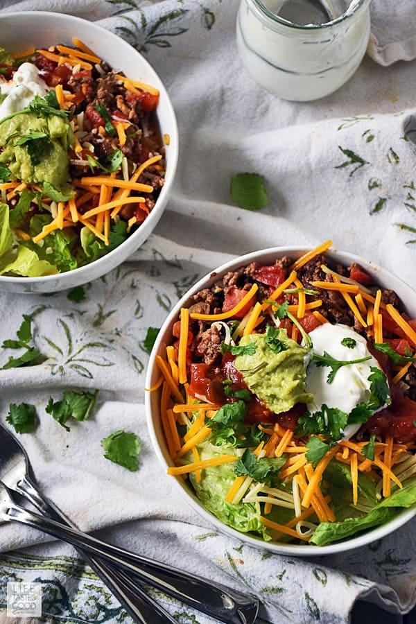 Taco Rice Bowl Recipe Tips