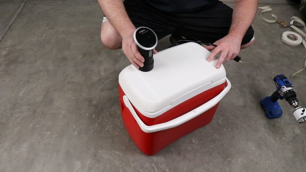 Sous Vide Containers Need a Lid