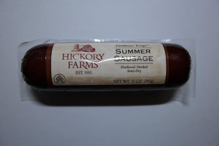What Is Summer Sausage Made From